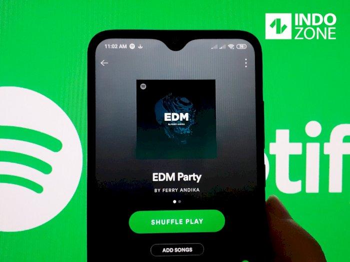 Sip! Spotify Kini Hapus Limit Download Lagu Secara Offline