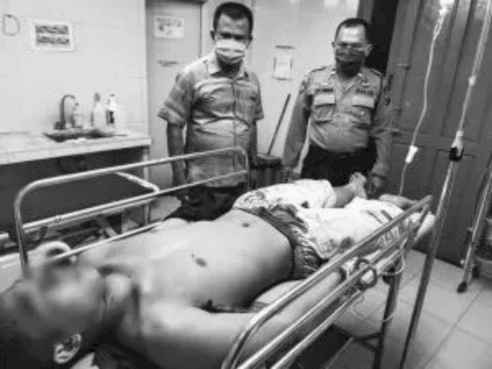 Sadis! Seorang Suami di Asahan Mencoba Bunuh Diri Setelah Bunuh Istrinya dengan Kampak