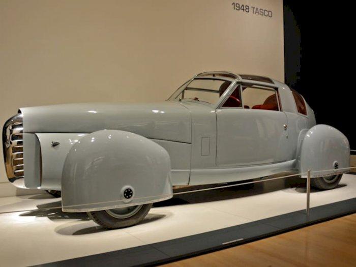 Ini Corvette TASCO 1948, Mobil Jadul yang Terinspirasi Konsep Pesawat!