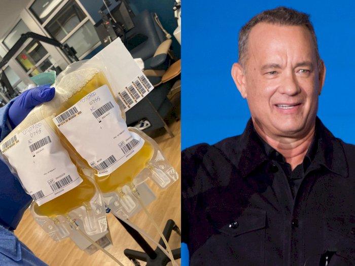 Sembuh dari Covid-19, Aktor Tom Hanks Donasikan Plasma Darah