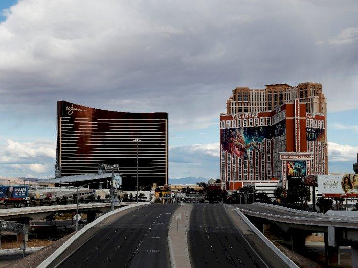 Pemilik Kasino di Las Vegas Sediakan 1.000 Tiket Penerbangan Gratis