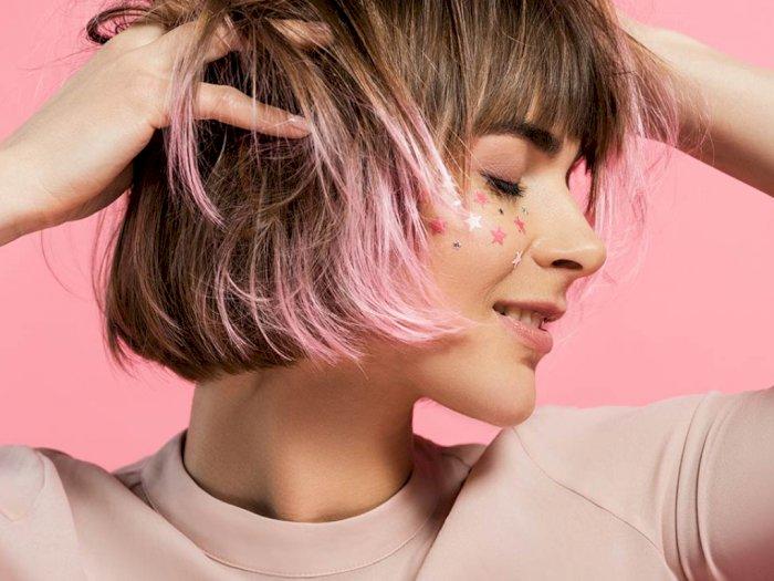 Unik, Warna Rambut Pink Pastel Jadi Tren saat Pandemi Virus Corona
