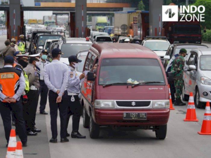 H+5 Lebaran, 5.000 Pengendara Arah Jakarta Ditindak karena Tak Punya SIKM