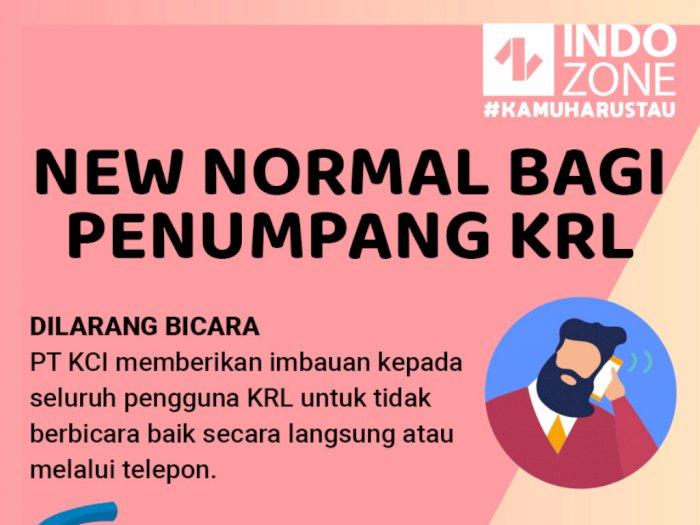 New Normal Bagi Penumpang KRL