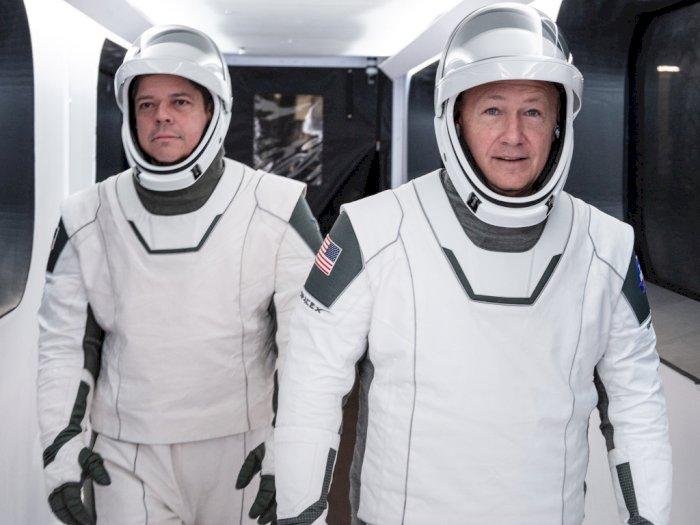 Tampak Modern, Seperti Ini Baju Astronot Rancangan SpaceX dan NASA!