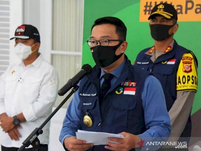 Ridwan Kamil Perpanjang PSBB di Sejumlah Wilayah, Ada yang Sampai 12 Juni