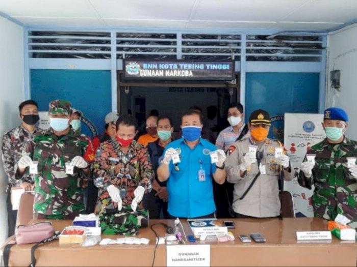 BNN Tebingtinggi Tangkap Pengedar Sabu yang Ternyata Buronan Asal Aceh