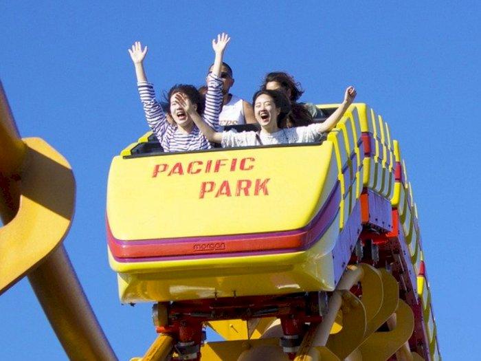 Kini Naik Roller Coaster di Jepang Tak Boleh Teriak- teriak