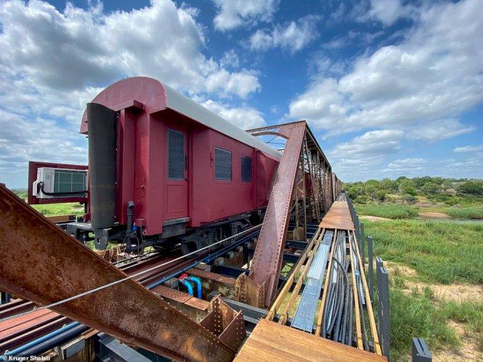 Uniknya Kruger Shalati, Gerbong Kereta yang Disulap Menjadi Hotel