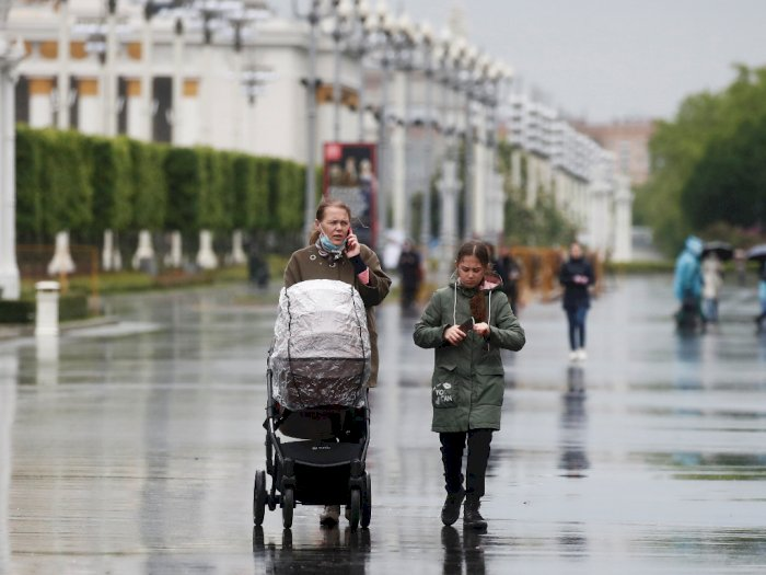 Kasus Covid-19 Turun, Moskow Mulai Longgarkan Karantina Wilayah