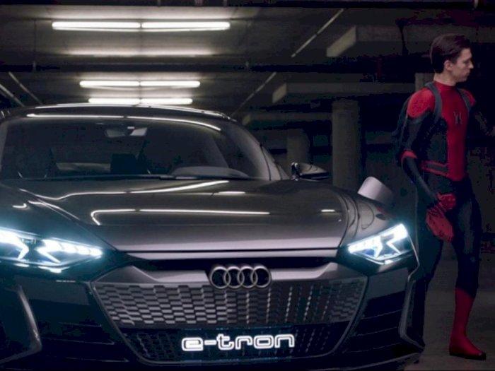 Tak Lagi Menggunakan Mobil Audi, Spiderman akan Jajal Mobil Hyundai