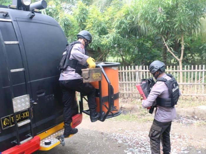 Polda Banten Amankan Granat dan Amunisi Militer dari Rumah Warga