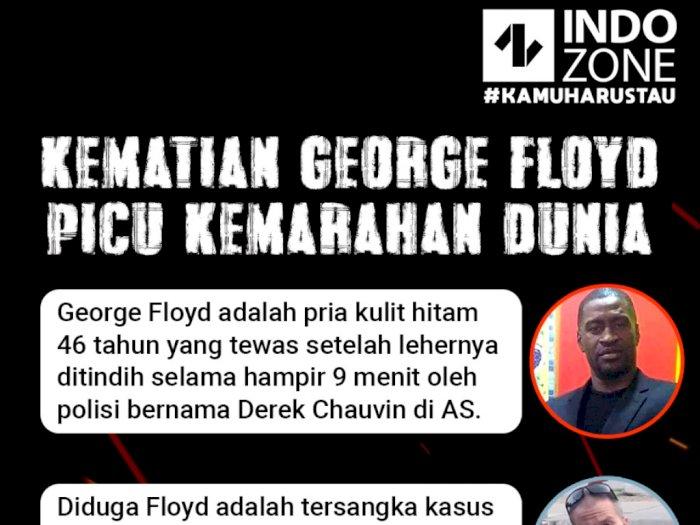 Kematian George Floyd Picu Kemarahan Dunia