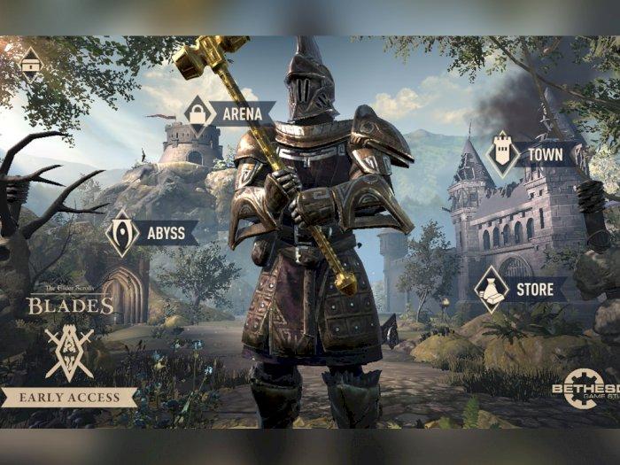 Bethesda Mulai Buka Tahap CBT untuk Game The Elder Scrolls: Blades di Asia