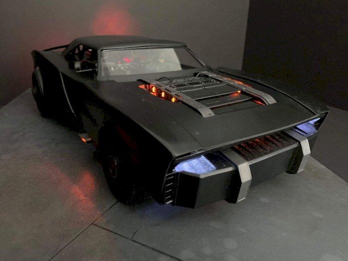 Beginilah Kesan Batmobile Terbaru di Film The Batman