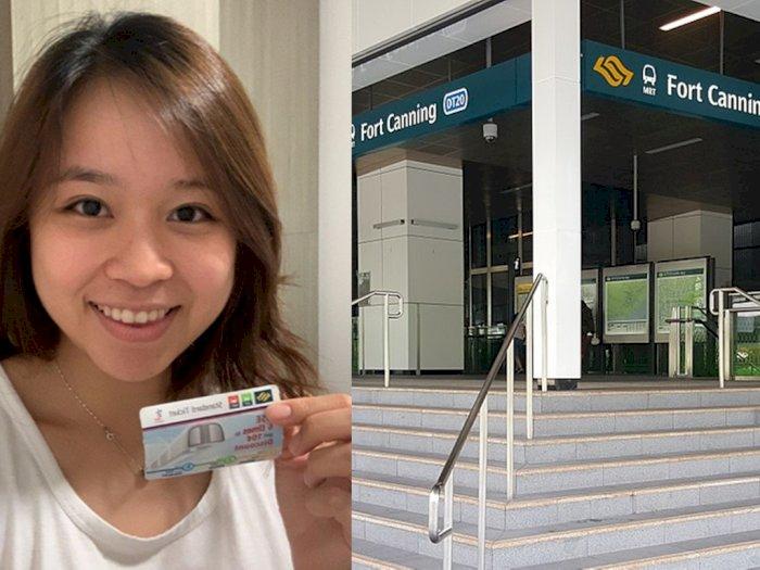 Tersesat di Singapura, Wanita Ini Diberi Uang Untuk Beli Tiket MRT