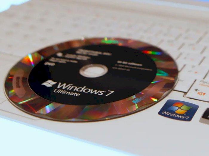 1 dari 4 Pengguna PC Saat Ini Masih Betah Gunakan OS Windows 7!