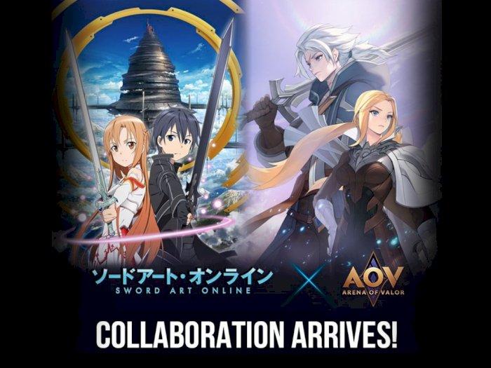 Link Start! Garena Umumkan Kolaborasi AOV dengan Sword Art Online