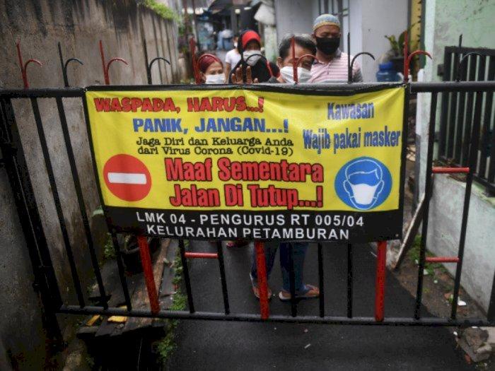 66 RW yang Zona Merah Covid-19 Akan Dapat Bantuan Sembako dari Dinsos DKI