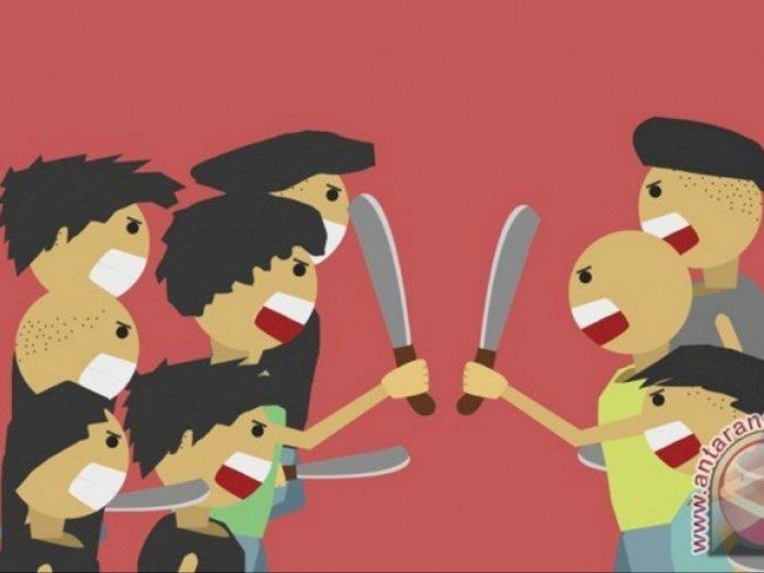 Polres Sibolga Amankan Oknum Mahasiswa Bawa Pisau Sangkur untuk Tawuran