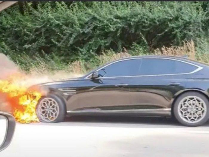 Sedan Premium Terbarunya Terbakar, Hyundai Lakukan Investigasi