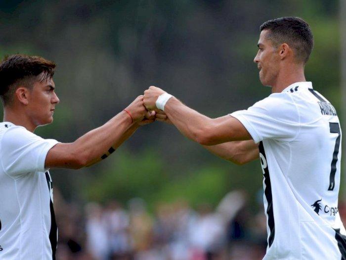 'Cristiano Ronaldo dan Paulo Dybala Susah Join Bareng' Kata Pelatih Maurizio Sarri