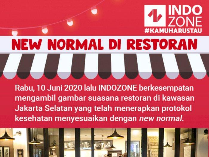 New Normal di Restoran