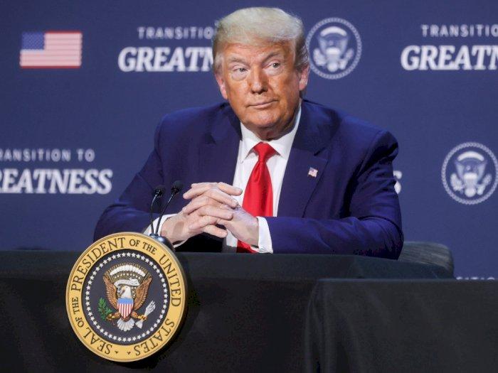Massa yang Hadir di Kampanye Trump Dilarang Menuntut Jika Terpapar COVID-19