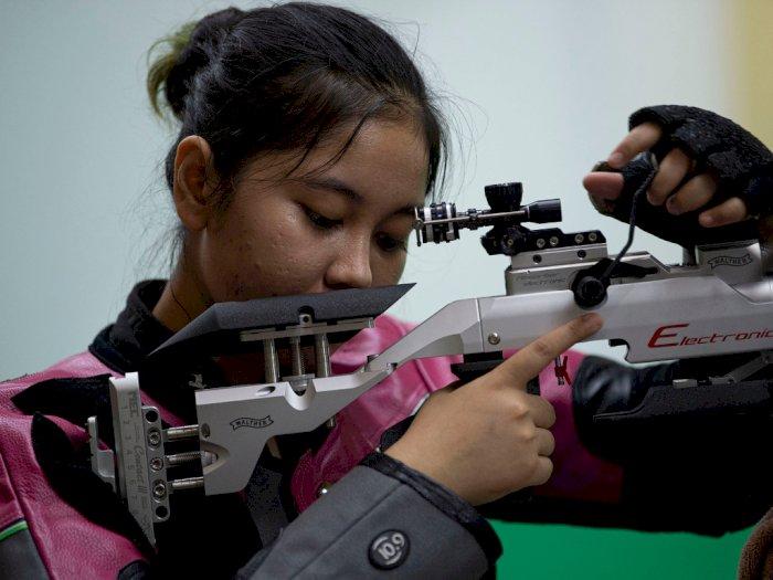 FOTO: Pelatnas Menembak Tetap Berlatih di Tengah Pandemi Covid-19