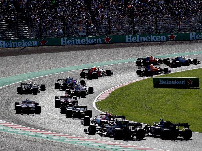 Resmi! F1 Azerbaijan, Singapura, dan Jepang Dibatalkan