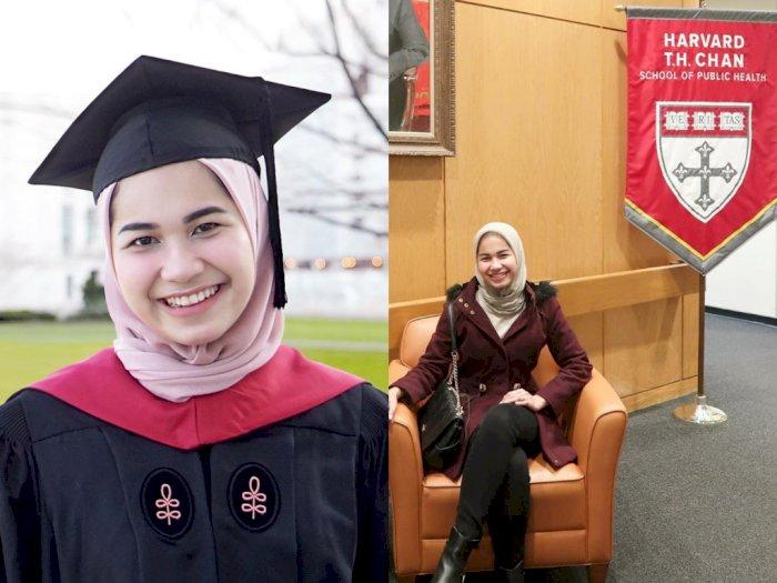 Gaya Modis Nadhira Afifa, Mahasiswi Indonesia yang Viral Berpidato di Harvard University