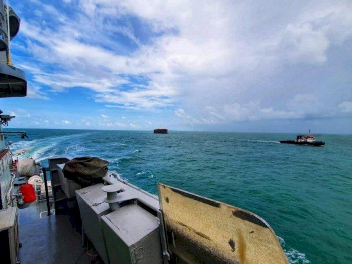 Guskamla Koarmada I TNI AL Usir 84 Kapal Asing yang Berlabuh Ilegal di Kepri