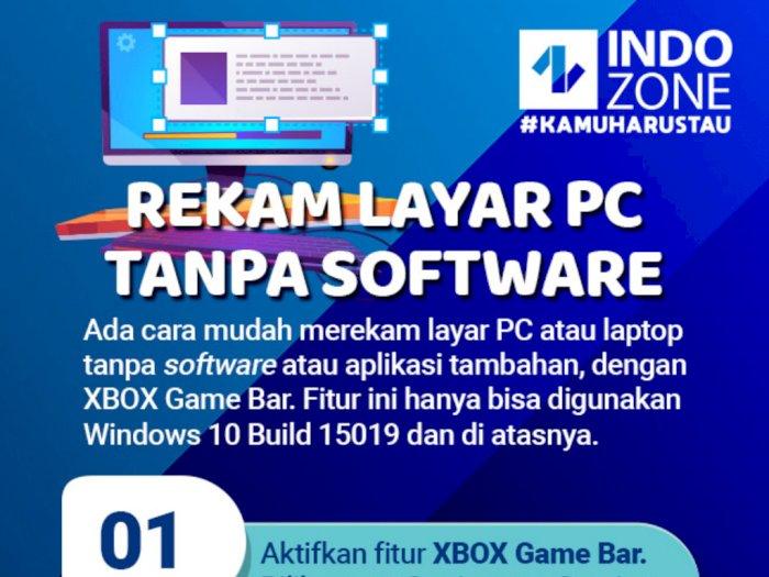Rekam Layar PC Tanpa Software