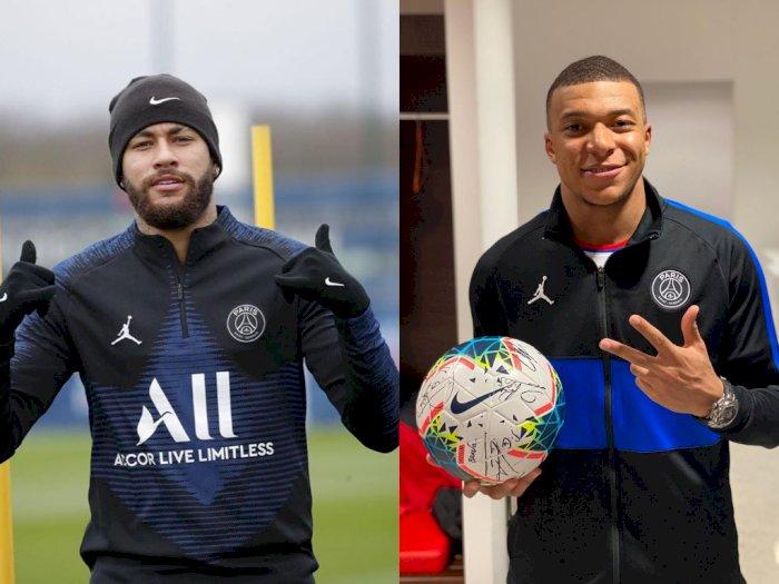 Neymar dan Mbappe Segera Terima Kontrak Baru dari PSG?