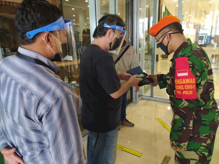 Masuk Mall di Masa New Normal, Pengunjung Harus Isi Data Diri