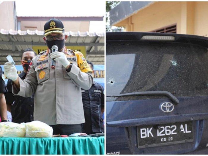 Kejar-kejaran dan Baku Tembak, Pengedar Narkoba Jaringan Aceh - Sumut Dilumpuhkan, 1 Tewas