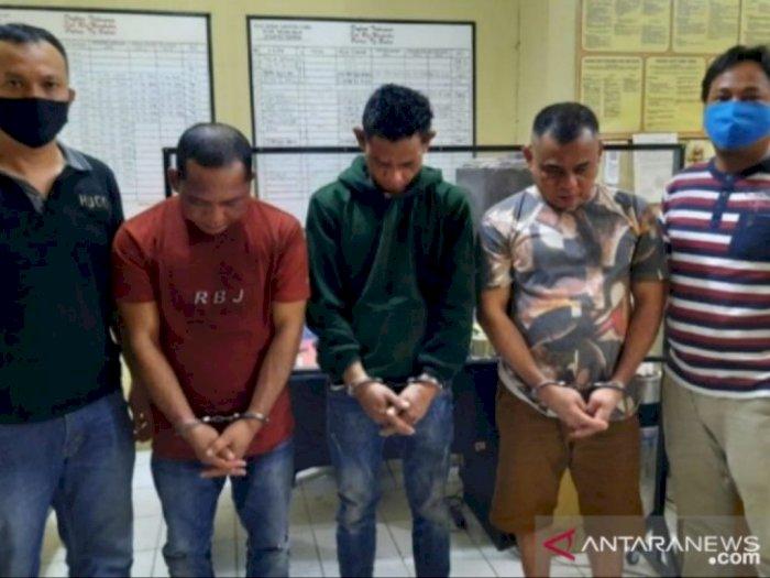 Trio Pengedar Ekstasi Berhasil Dibekuk Polres Tanjungbalai