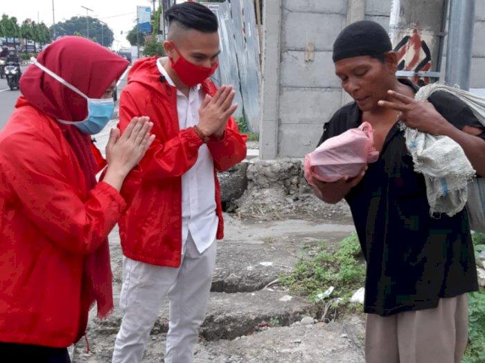DPW PSI Sumut Kembali Bagi-bagi Makanan ke Masyarakat Terdampak Covid-19
