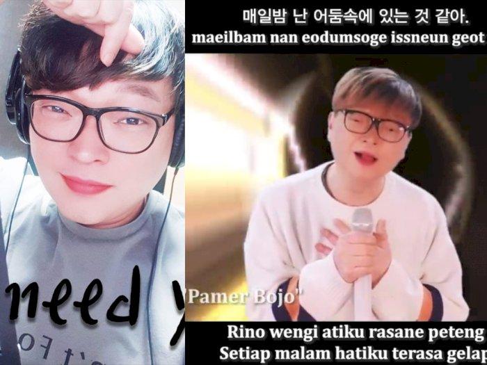 Youtuber Asal Korsel Cover Lagu Didi Kempot dalam Bahasa Korea