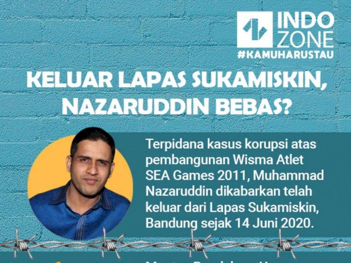 Keluar Lapas Sukamiskin, Nazaruddin Bebas?