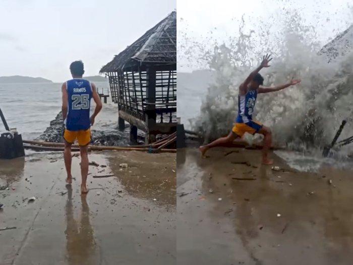 Hibur Warganet, Pria Ini Parodikan Avatar Pengendali Air