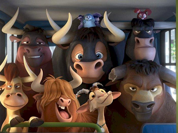 """""""Ferdinand (2017)"""" -  Kisah Haru dan Lucu Petualangan Seekor Banteng"""