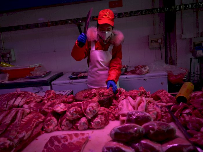 Talenan Pasar Jadi Pemicu Sumber Virus Corona, Tiongkok Berlakukan Lockdown di 21 Kompleks