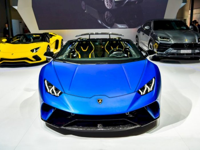 Meski Tak Ikut Pameran Otomotif, Lamborghini Yakin Tetap Laku Terjual