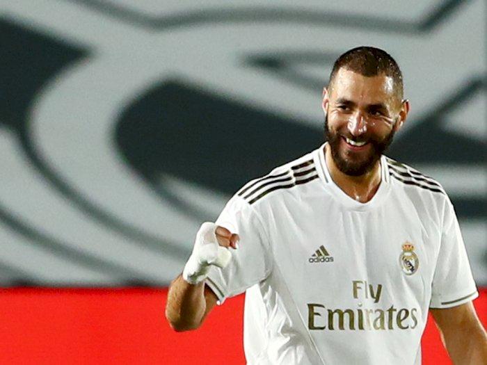 Masuk Daftar Lima Besar Topskor Real Madrid, Benzema Akui Senang