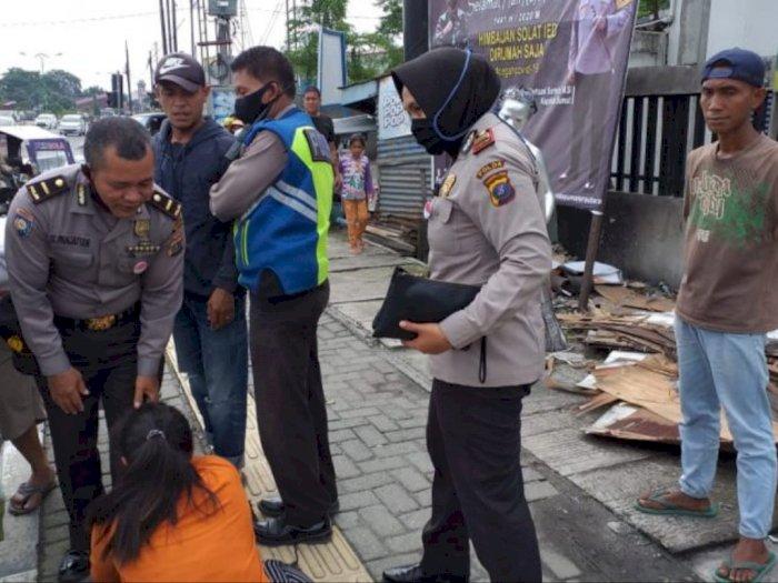 Pasutri di Medan Amplas Cekcok di Jalan, Polsek Patumbak Sampai Turun Tangan