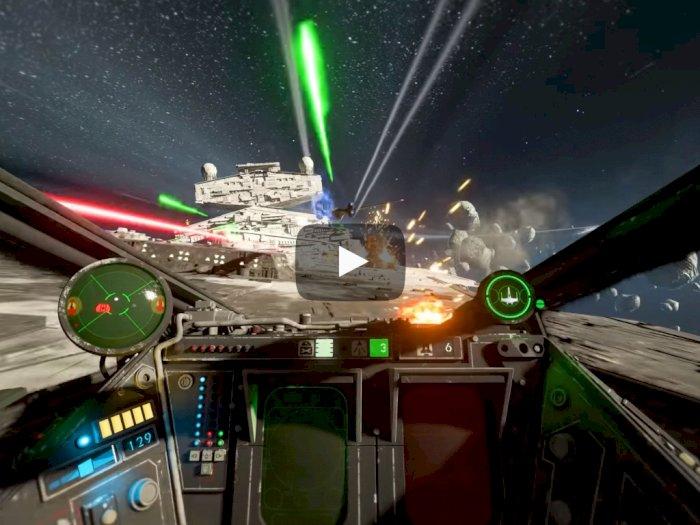 EA Pamerkan Gameplay Star Wars: Squadrons, Hadirkan Grafis Fantastis!