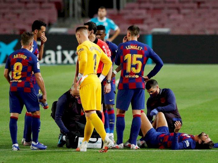 Gagal Menang Saat Lawan Sevilla, Pique: Sulit untuk Juara LaLiga