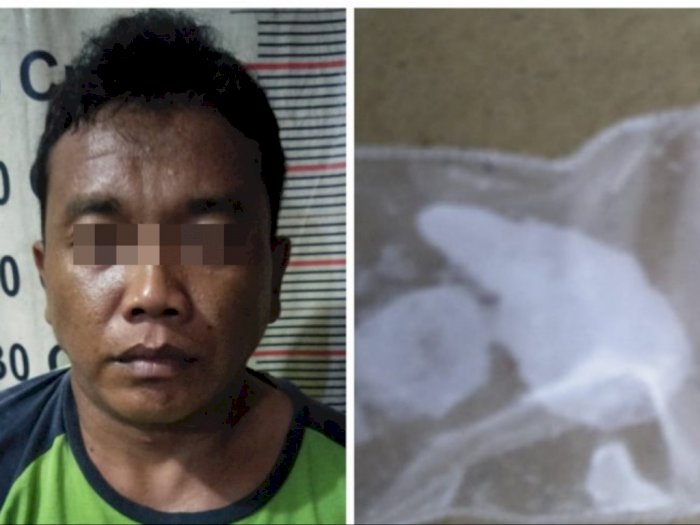 Pengedar Sabu Asal Tanjung Pura Langkat Diciduk Polisi