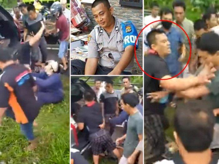 Detik-detik Polisi Heroik Bripka Masruri Selamatkan Nyawa Begal yang Ditangkap dari Amukan